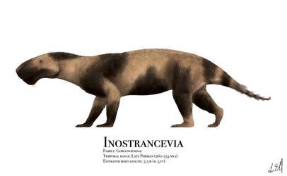 Inostrancevia by PrehistoryByLiam