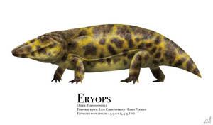 Eryops by PrehistoryByLiam
