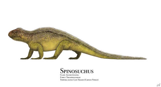 Spinosuchus by PrehistoryByLiam