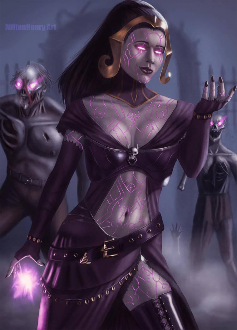 Liliana Vess. Extras version by SteveArgyle on DeviantArt