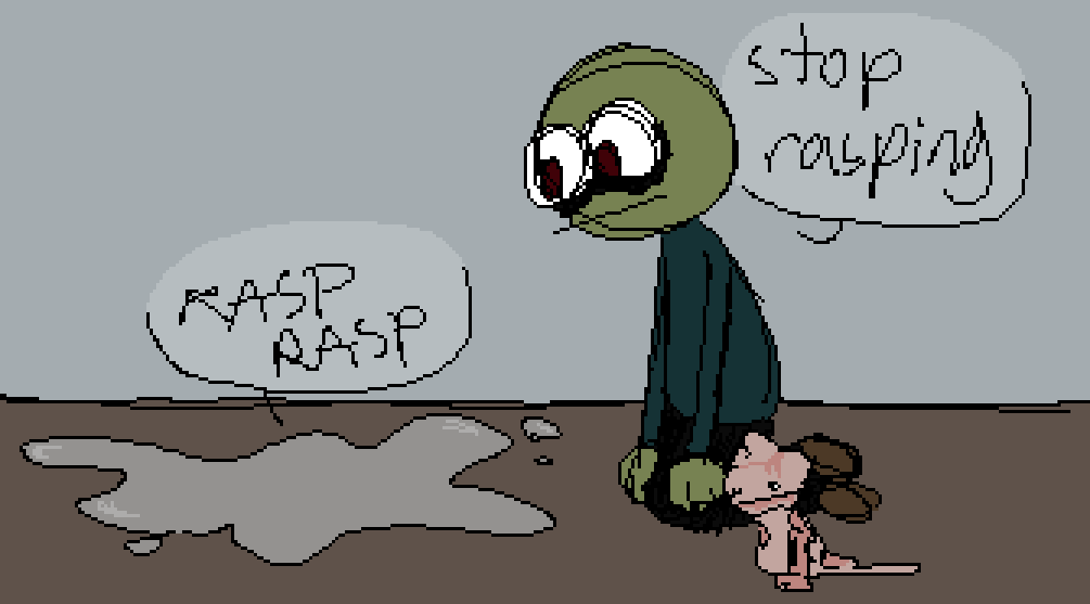 salad fingers by telepathic-melon