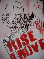 hardcore rise above 2 by jonny-riot