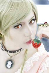 Misa Amane Death Note - Misa's eyes by angelace9