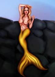mermaid commission by SkyRick1