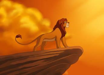 The true King by Mistrel-Fox