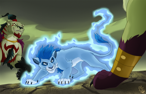 Battle with Lorwardians by Mistrel-Fox
