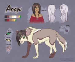 CM - Anayu ref sheet by Mistrel-Fox