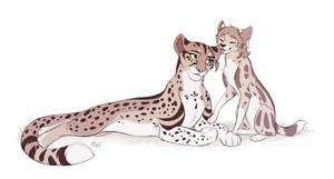 [CM] Hazel and Minerva by Mistrel-Fox