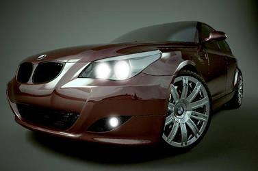 BMW by Redcrawling