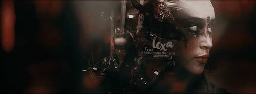 Lexa Kom Tri Kru - The 100 #2 by ContagiousGraphic