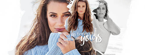 Lea Michele #4 by ContagiousGraphic