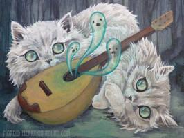 Misty and Molly's Haunted Mandolin by AlizarinJen