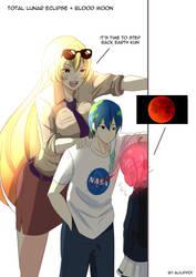 Lunar Eclipse 2 by AkihisaTaka