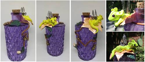 Fairy Dragon Bottle by keykaye