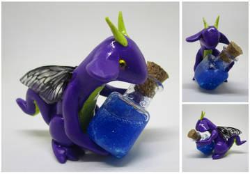 Fairy Potion Dragon by keykaye