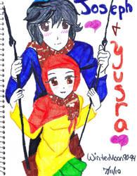 Joseph and Yusra Contest by WinterMoon90-94