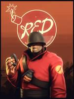 Red power by Deniszizen