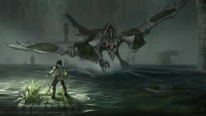Avion: Shadow of the Colossus by KalaSketch