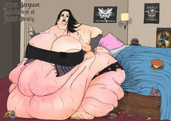 Aurora Hargrave,Embodiment of Morbid Obesity. Clth by kraban
