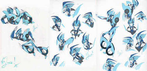 More TFP concept Blurr by ManicDraconis