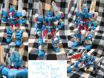 MTMTE Ultra Magnus custom figure by ManicDraconis