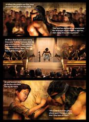 A Man Called Samson pic 1 by ArtofthePainter