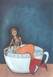 Mermaid Tea by lullF