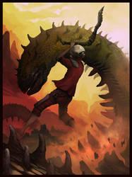Worm Slayer by Sergon