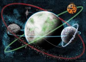 Demen Orbital Map by JPBeaubien