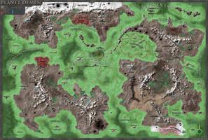 Demen Map by JPBeaubien