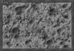 Amo, the first moon of Demen by JPBeaubien