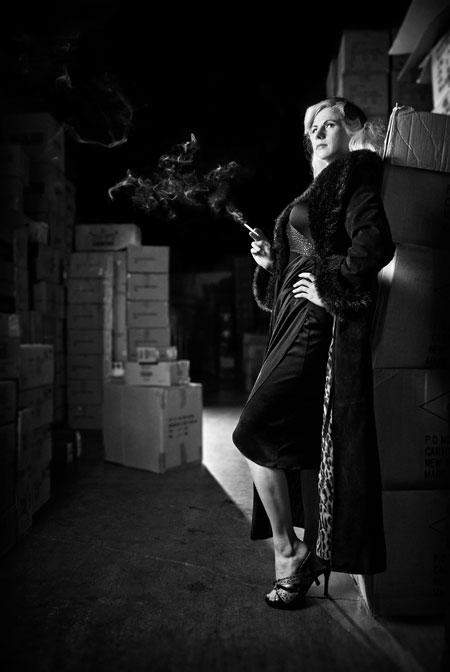 Noir Femme Fatale by pinupangel