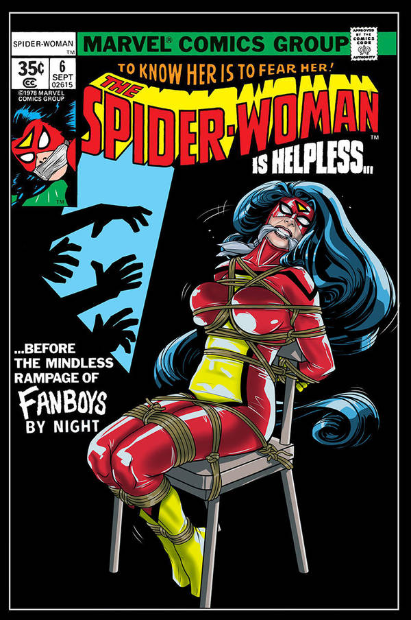 Spider Woman Issue 6 Cover Reimagining by frelncer