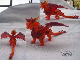 Fire Dragon ignitus by VictorCustomizer
