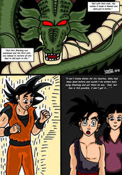 Dragonball Comic: the legend of Mr. Satan page 88 by RastaSaiyaman
