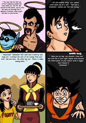 Dragonball Comic: the legend of Mr. Satan page 91 by RastaSaiyaman