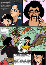 Dragonball Comic: the legend of Mr. Satan page 92 by RastaSaiyaman