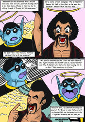 Dragonball Comic: the legend of Mr. Satan page 95 by RastaSaiyaman