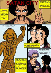 Dragonball Comic: the legend of Mr. Satan page 97 by RastaSaiyaman