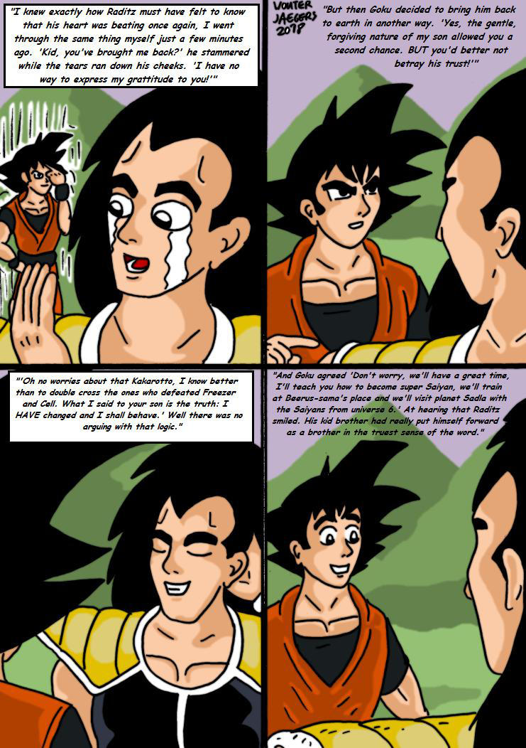 Dragonball Comic: the legend of Mr. Satan page 150 by RastaSaiyaman