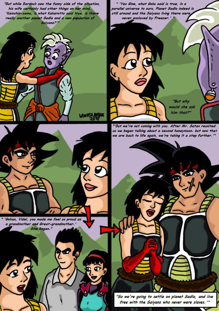 Dragonball Comic: the legend of Mr. Satan 152 by RastaSaiyaman