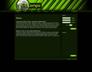 Compo - green barcode by Kwiato