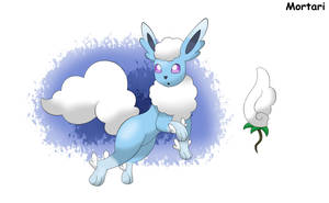 Fakemon: Cloudeon by BihMortari