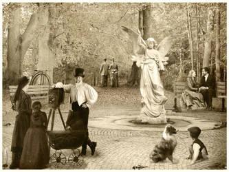 Angel of Hope: Victorian Era by spring-sky