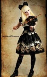 Violin Doll 2 by larkir