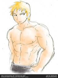MuscleUp - Seiji Sawamura by zephleit