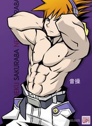 MuscleUp - Neku Sakuraba by zephleit