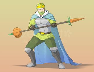 [COM B9.13] King of Veggies by zephleit