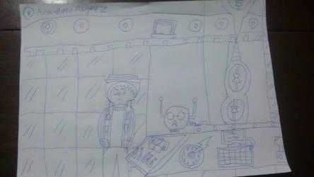 in my TARDIS by AdventuresMaykeZ