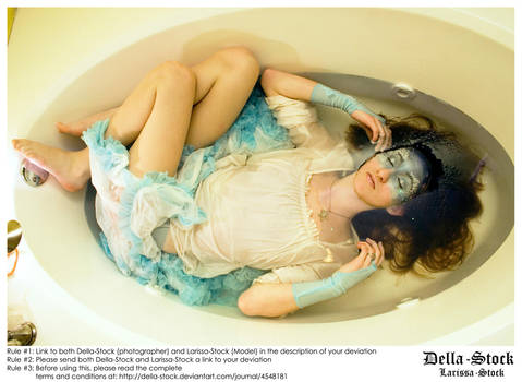 Drowning Dame by Della-Stock